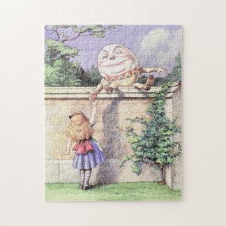 Alice Meets Humpty Dumpty Jigsaw Puzzle