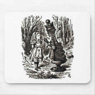 Alice Meets Red Queen Mouse Pad