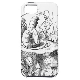 Alice Meets the Caterpillar - Alice in Wonderland Cover For iPhone 5/5S