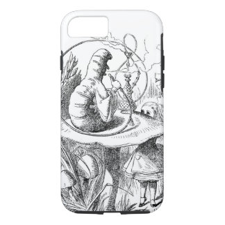 Alice Meets the Caterpillar - Alice in Wonderland iPhone 8/7 Case