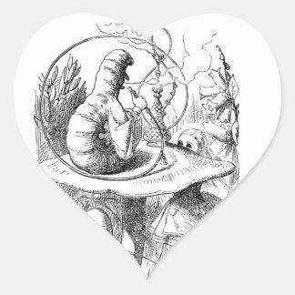 Alice Meets the Caterpillar - Alice in Wonderland Stickers