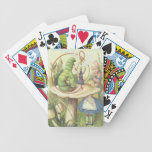 Alice Meets the Caterpillar Bicycle Playing Cards