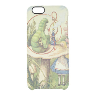 Alice Meets the Caterpillar Clear iPhone 6/6S Case