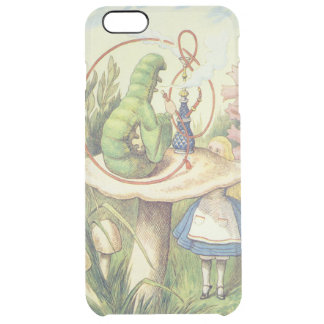 Alice Meets the Caterpillar Clear iPhone 6 Plus Case