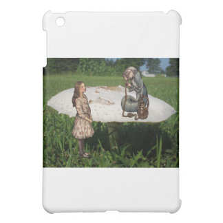Alice Meets the Caterpillar iPad Mini Cover