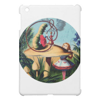 Alice Meets the Caterpillar iPad Mini Covers