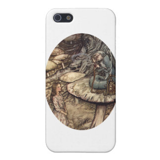 Alice Meets the Caterpillar iPhone SE/5/5s Cover