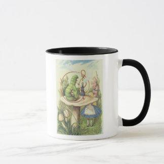 Alice Meets the Caterpillar Mug