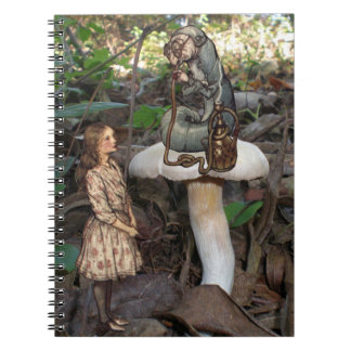 Alice Meets the Caterpillar Photo Fun Notebook
