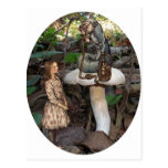 Alice Meets the Caterpillar Postcards