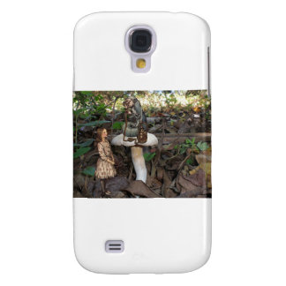 Alice Meets the Caterpillar Samsung Galaxy S4 Cover