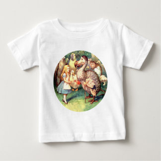 Alice Meets the Dodo Bird at the Caucus Race Baby T-Shirt