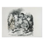 Alice meets the Dodo Poster
