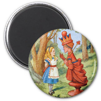 Alice Meets the Red Queen Magnet