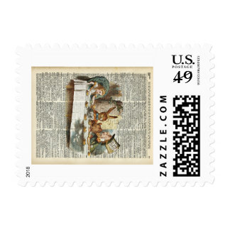 Alice Morning Tea time Postage