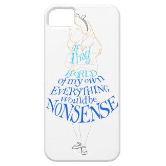 Alice Nonsense iPhone SE/5/5s Case