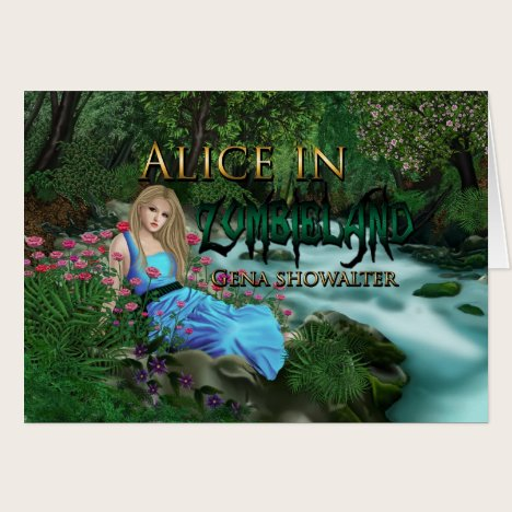 Alice note cards. card