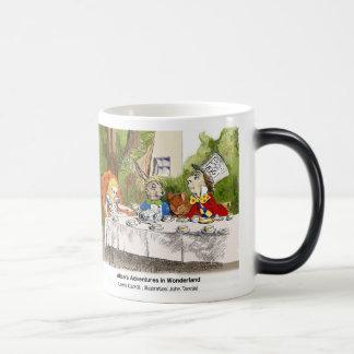 Alice of the country of wonder magic mug