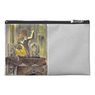 Alice on the Mantle Travel Accessory Bag