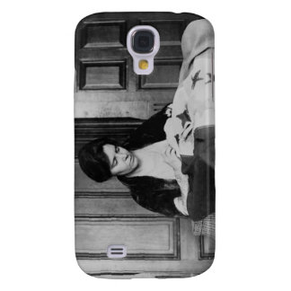 Alice Paul, Sewing Suffrage Flag, 1910s Galaxy S4 Covers