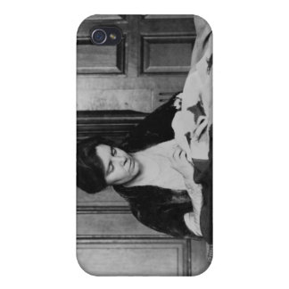 Alice Paul, Sewing Suffrage Flag, 1910s iPhone 4/4S Covers