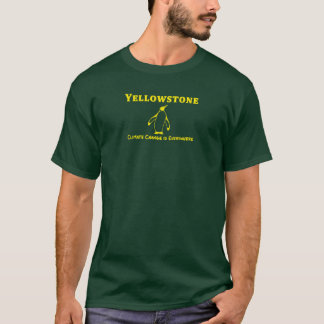 Alice Penguin Yellowstone Climate change is Everyw T-Shirt