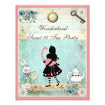 Alice, Pink Flamingo & Cheshire Cat Sweet 16 Announcements