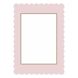 Alice Pink in an English Country Garden Card