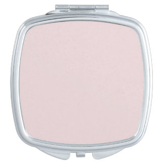Alice Pink in an English Country Garden Vanity Mirror
