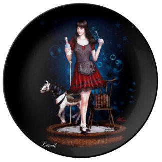 Alice Porcelain Plate
