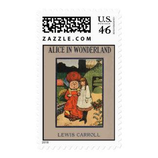 Alice Postage Stamp