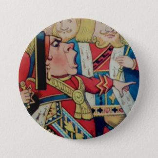 "Alice-Queen Of Hearts - 3"" Button"