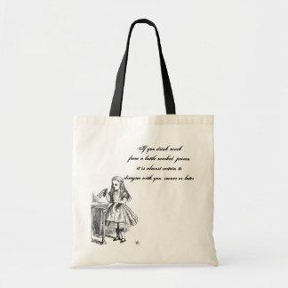 Alice Quote Bag