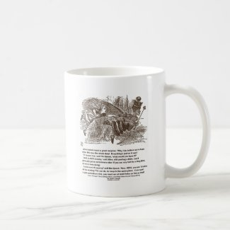 Alice Red Queen Running To Stay In Same Place Mugs