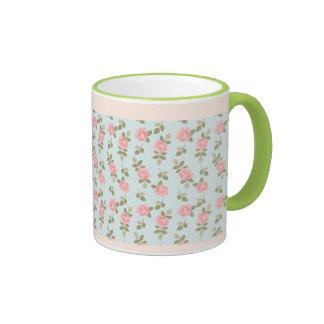 Alice Romantic Vintage Roses Ringer Mug