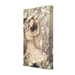 Alice's Adventures in Wonderland by Arthur Rackham Canvas Prints