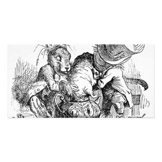 Alice s Adventures in Wonderland Photo Greeting Card