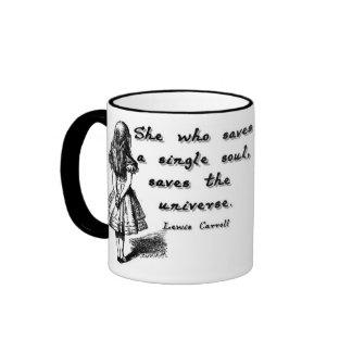 Alice Saves A Soul Ringer Coffee Mug