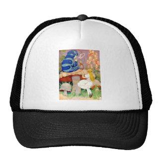 Alice Seeks Advice From The Caterpillar Trucker Hat