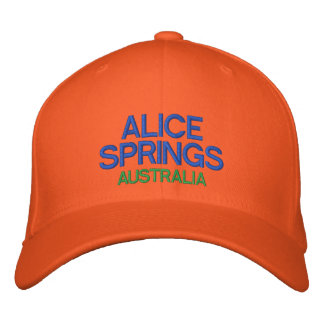Alice Springs Australia Custom Baseball Hat