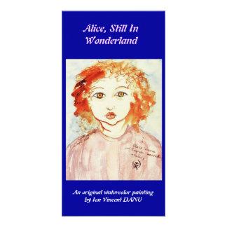Alice Still In Wonderland Photo Greeting Card