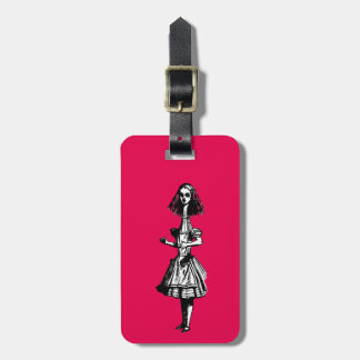 Alice Stretched in Wonderland Tag For Bags