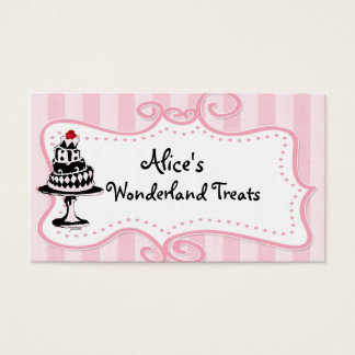Alice Sweet Shop Business Cards