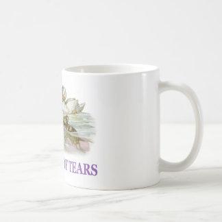 Alice swims in the pool of tears. classic white coffee mug