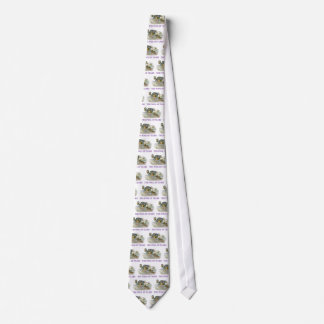Alice swims in the pool of tears. neck tie