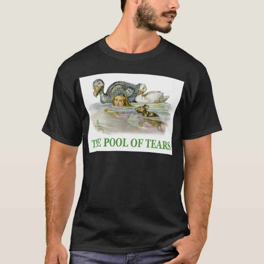 Alice swims in the Pool of Tears T-Shirt