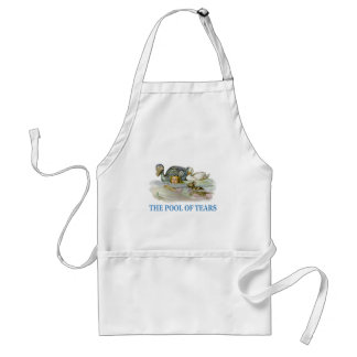 Alice Swims Through The Pool of Tears Adult Apron