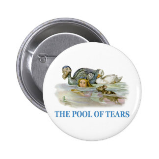 Alice Swims Through The Pool of Tears Button