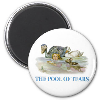 Alice Swims Through The Pool of Tears Magnet