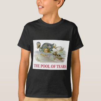 Alice Swims Through the Pool Of Tears! T-Shirt